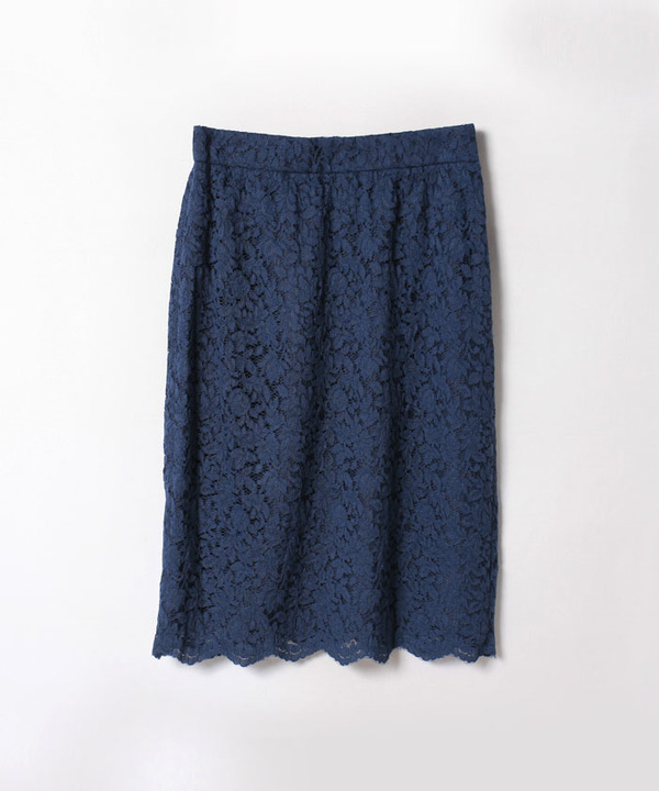 リーフレースタイトスカート