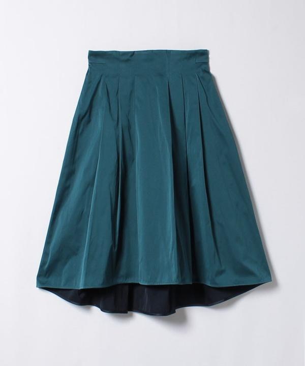 ダブルギャバタックテールスカート