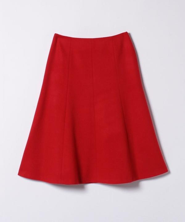ウールビーバーマーメイドフレアスカート