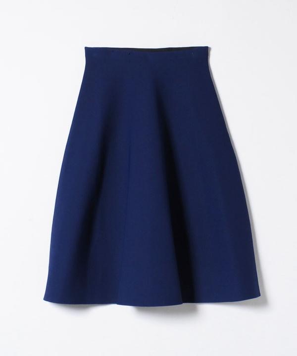 【セットアップ対応商品】アセテートナイロンボリュームフレアスカート