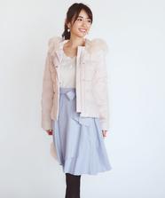 【美人百花 12月号掲載】イレギュラーラップスカート