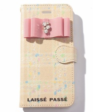 【Laisse Passe Room限定】チェックiphone7/8ケース