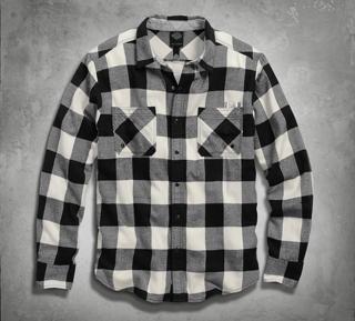 バッファローチェックシャツ
