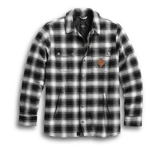 スリムフィットライディングシャツジャケット