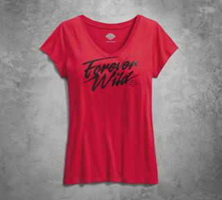 Forever Wild VネックTシャツ