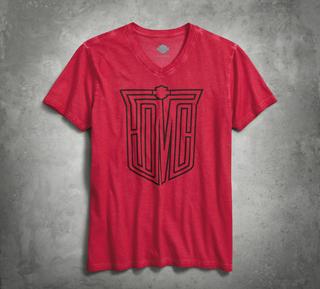 HDMC VネックTシャツ