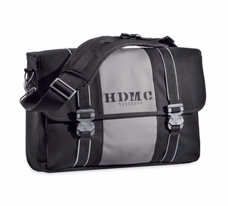 HDMCメッセンジャーバッグ,ブラック