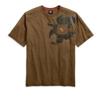 セマティックイーグルポケットTシャツ