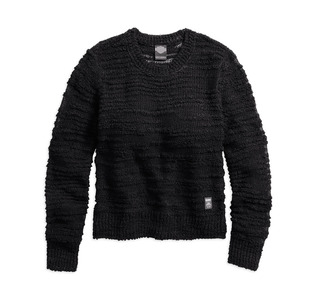 オープンスティッチセーター