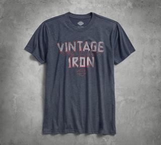 ヴィンテージアイアン3-DTシャツ