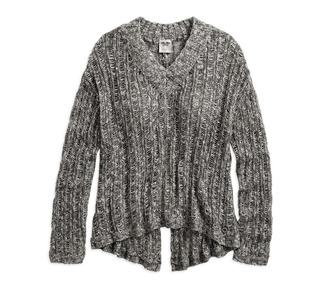スプリットバック・セーター