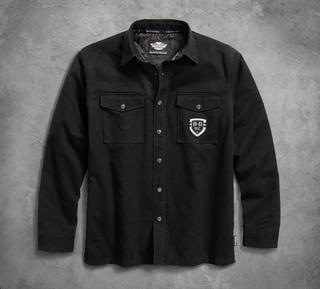 Thinsulateインシュレーション付ヘビーウェイトシャツジャケット
