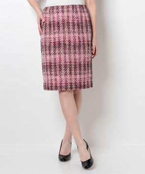 リントンミックスツィード スカート