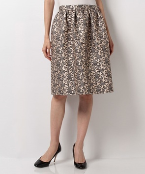 シルクジャガードスカート