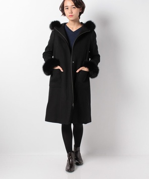 ★【店舗限定商品】ドラップビーバーウールコート
