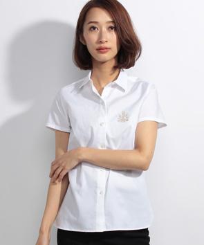 コットンオックスシャツ