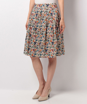 【セットアップ対応商品】リバティプリントスカート