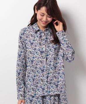 【セットアップ対応商品】リバティプリントシャツ