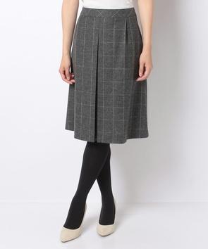 ツィードストレッチスカート