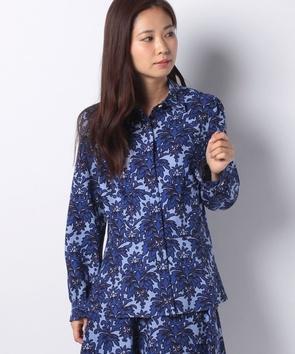 【セットアップ対応商品】フラワープリントシャツ