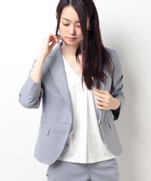 【セットアップ対応商品】シャークスキンジャケット
