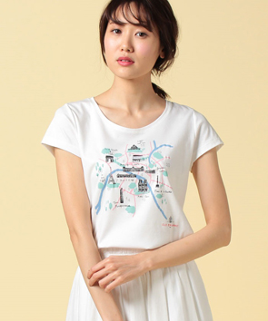 【150周年LIMITED】 パリマップTシャツ