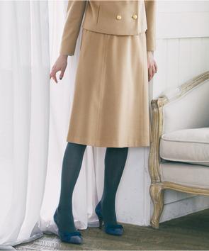 【セットアップ対応商品】ピュアカシミヤスカート