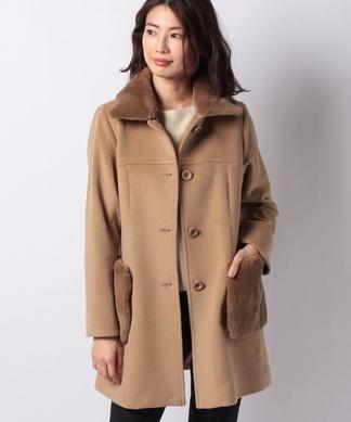 【特別提供品】ファーポケットコート