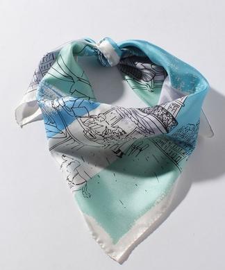 パリプリントスカーフ
