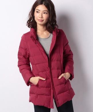 【特別提供品】セミロング丈のダウンコート