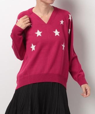 【Loana】星柄セーター
