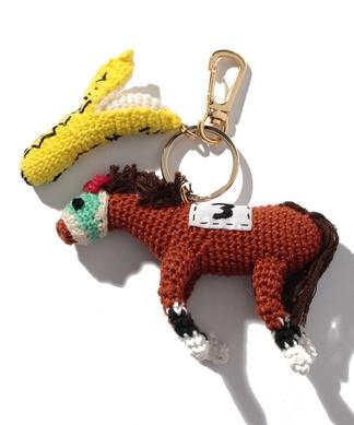 【CASSELINI】馬ぐるみチャーム
