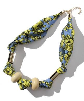 【our】スカーフアレンジネックレス
