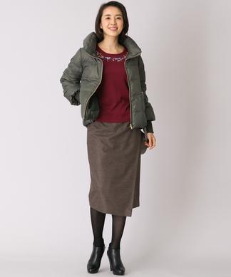 【特別提供品】ラップ風タイトスカート