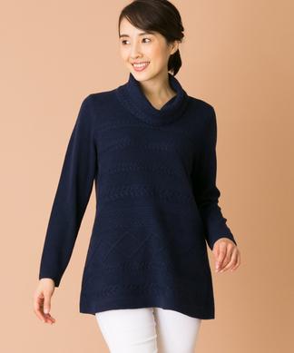 【特別提供品】オフタートルセーター