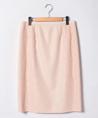 【セットアップ対応商品】サイドレースタイトスカート