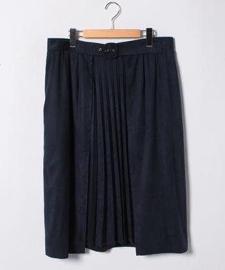 センタープリーツフレアスカート