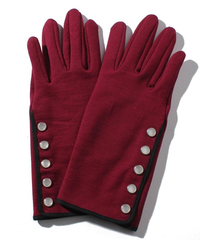 M001 GANTS カーディガンプレッションデザイン手袋