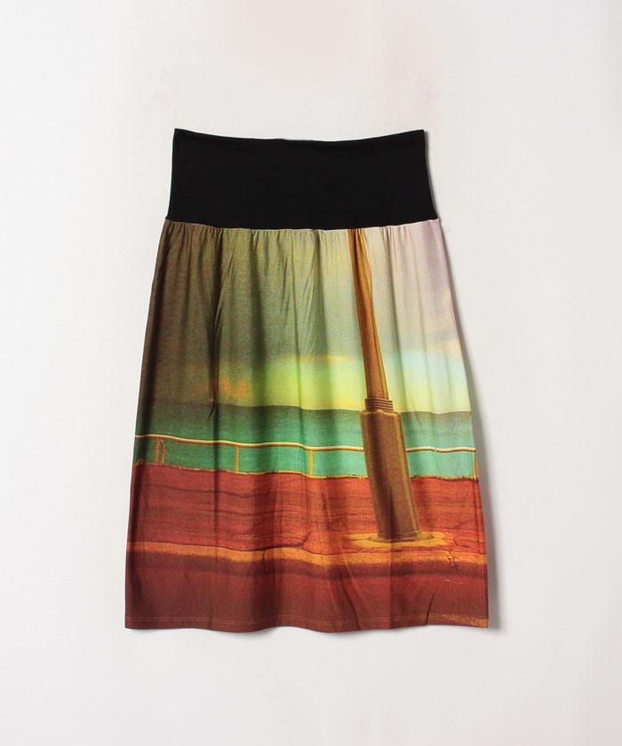 NMT3 JUPE フォトプリントスカート