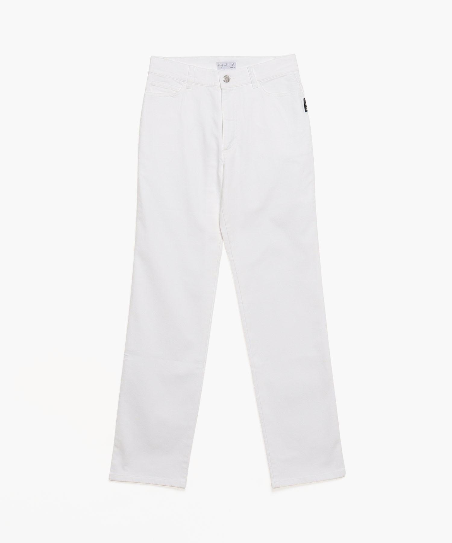 UAL5 JEANS ホワイトジーンズ レギュラー