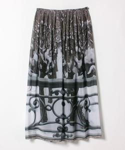 NR48 JUPE フォトプリントスカート