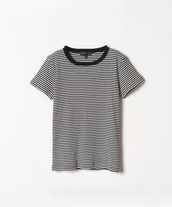 J530 TS リブボーダーTシャツ