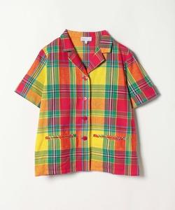 CM03 CHEMISE チェックオープンカラーシャツ