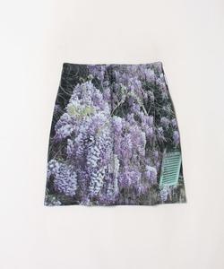 NP90 JUPE フォトプリントスカート