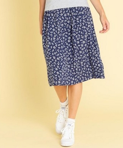 IBW4 JUPE フラワープリントスカート