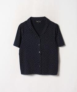 JDF9 CHEMISE ドットプリントオープンカラーシャツ