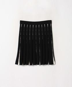 LW96 JUPE ニットプリーツスカート