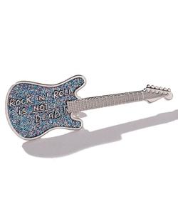 GI43 BROCHE ギターバッジ