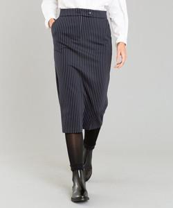 JEU1 JUPE ストライプスカート
