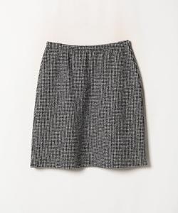 【セットアップ対応商品】JER2 JUPE ハウンドトゥース スカート